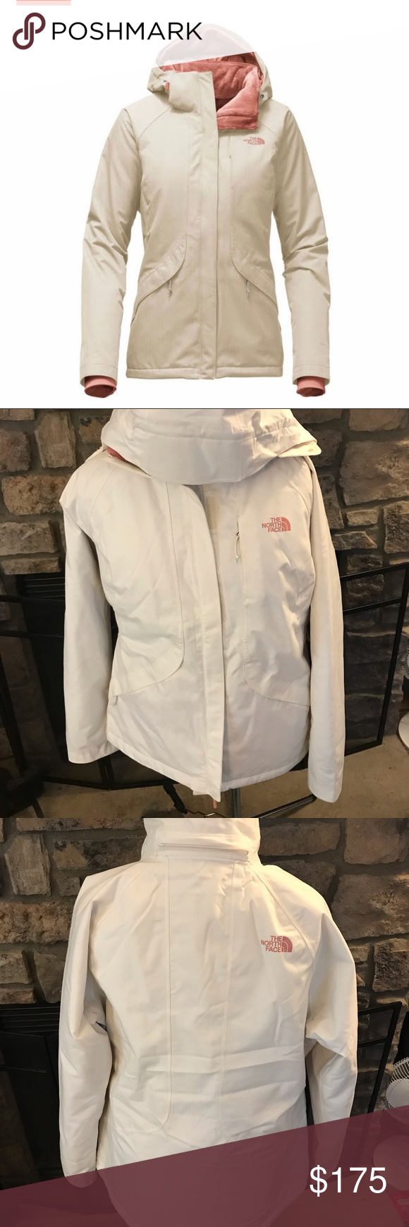 Womens North Face Insulated Inlux Ski Jacket Large North Face Women The North Face Ski Jacket [ 1740 x 580 Pixel ]