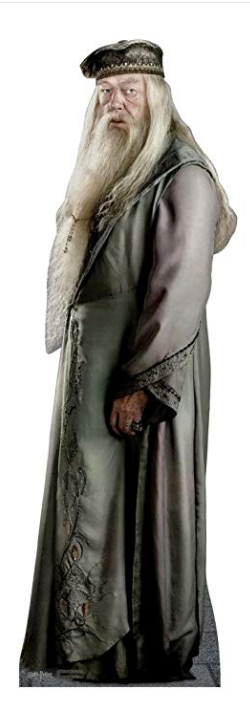 Professor Dumbledore Harry Potter And The Order Of The Phoenix Advanced Graphics Life Size Cardboard S Harry Potter Professors Dumbledore Advanced Graphics