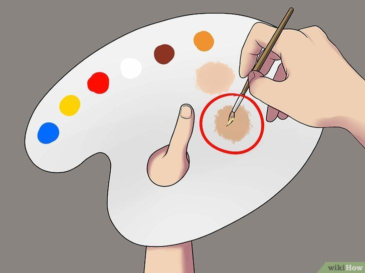 Een Realistische Huidskleur Maken En 2020 Tonos De Piel Clases De Pintura Acrilica Pasos Para Dibujar Rostros