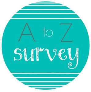 A-Z Survey of All Things Book Related - brooke hargett's blog