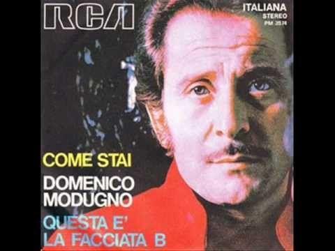 Domenico Modugno Volare Nel Blu Dipinto Di Blu 1958 Songs Billboard Hits Best Songs