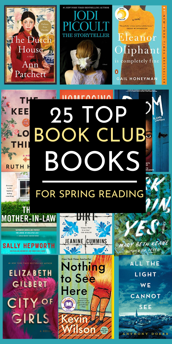 25 Best Book Suggestions For Your Next Book Club D