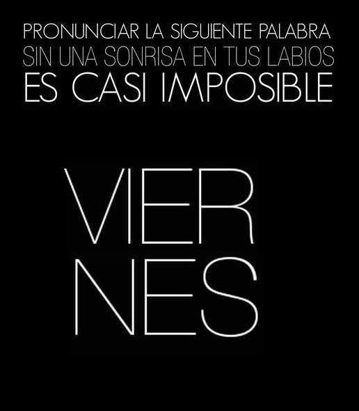 #Viernes