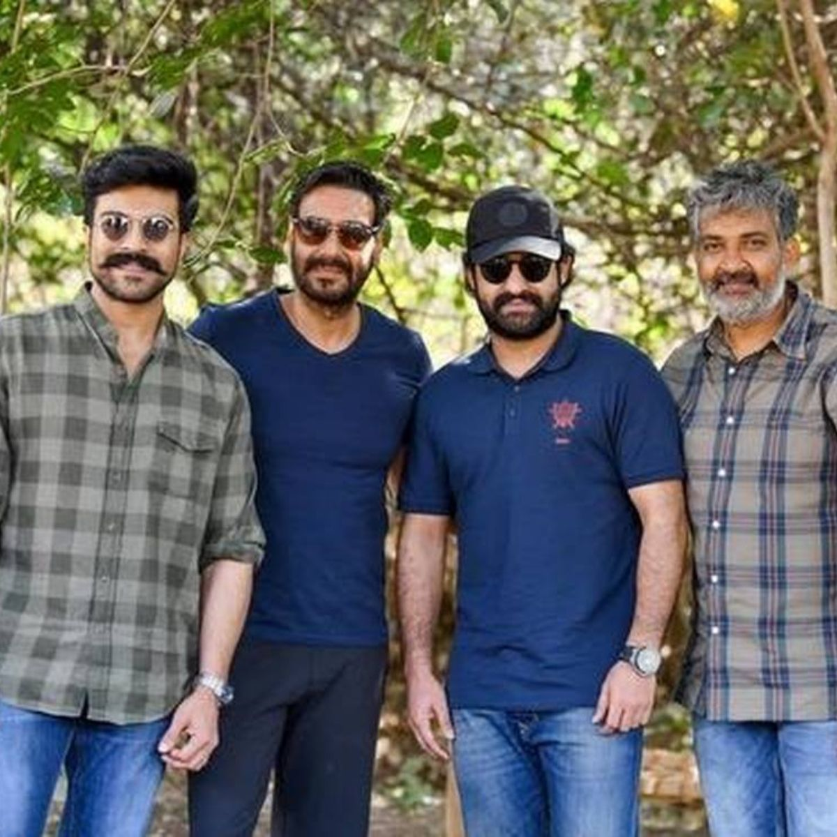 RRR Makers of Ram Charan and Jr NTR starrer resume shoot