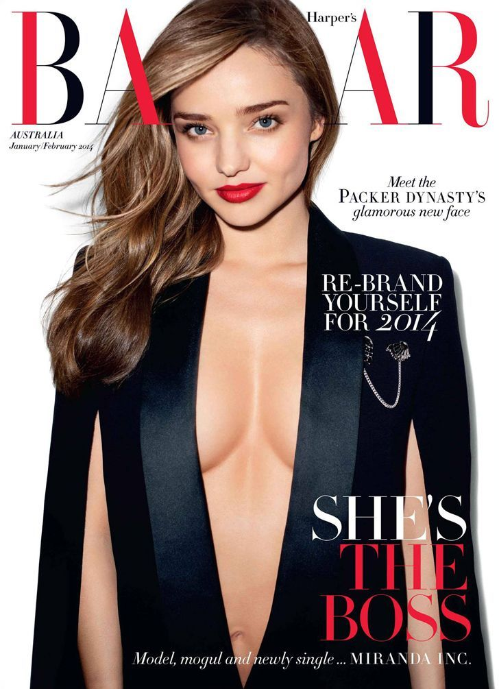 Harpers Bazaar Australia January/February 2014 | Miranda Kerr | Terry Richardson