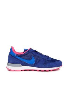 nouveau produit cf841 a41ee Nike - Internationalist - Baskets - Bleu électrique ...