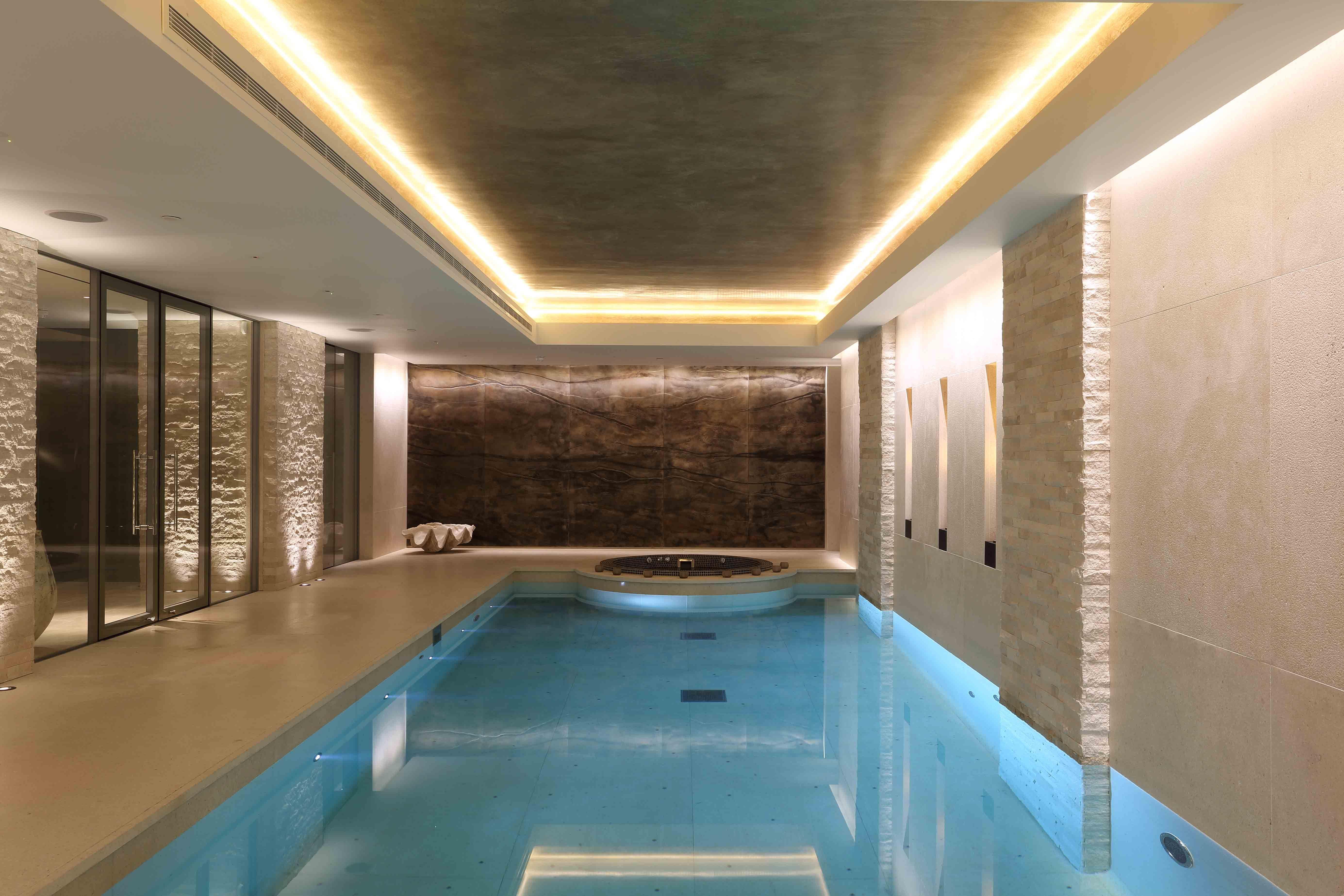 Basement Swimming Pool Design Lower Ground Floor Swimming Pool  Knightsbridge Bolig  Pinterest