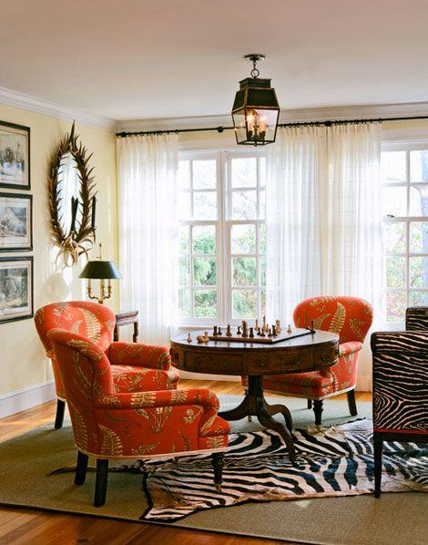 Orange Chairs Decoracion De Salas Salones Formales Decoración De Habitaciones