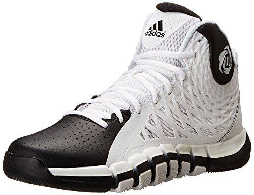cheap for discount f555d 92821 ... usa adidas performance mens d rose 773 ii basketball shoe white  metallic silver black 12 m