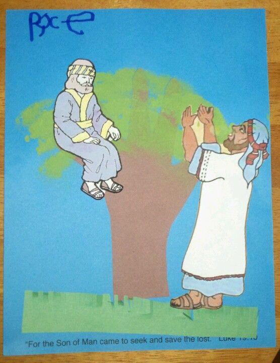 clipart jesus and zacchaeus - photo #14