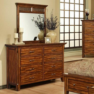 AYCA Furniture Marissa County 8 Drawer Dresser