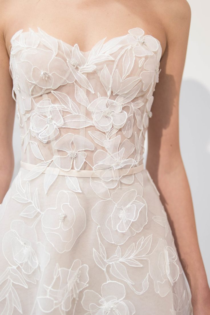Mira Zwillinger Spring 2020 Collection Preview #bridalshops