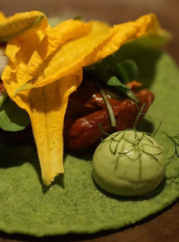Authentic Mexican Cuisine With A Modern Flair At Pujol In Mexico