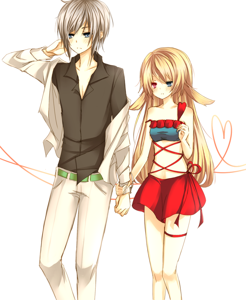 Anime couple pin cute anime couples holding hands picture by tecgirl2010 picture to