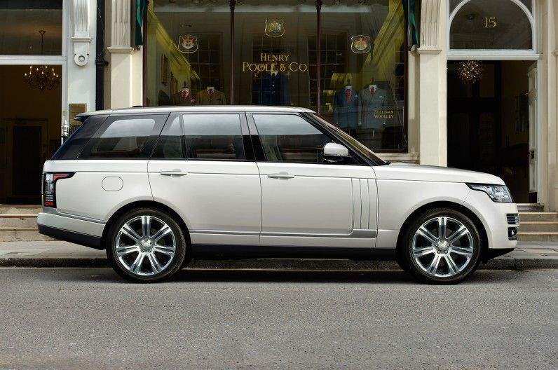2014 Range Rover LongWheelbase Debuting at 2013 L.A. Auto