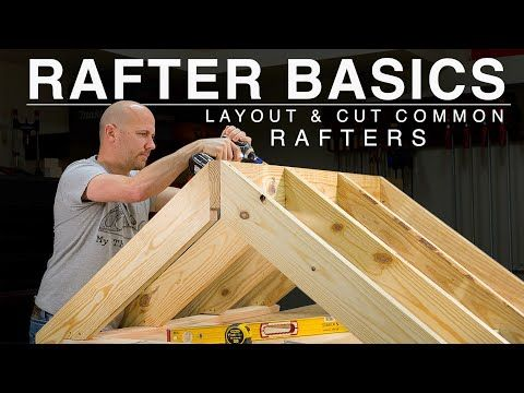 Beginner Rafter Layout   Speed Square   Common Raf