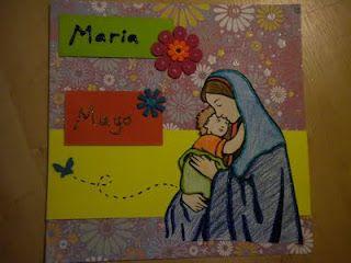 Página Litúrgica para Mayo: Mes dedicado a la Santísima Virgen María