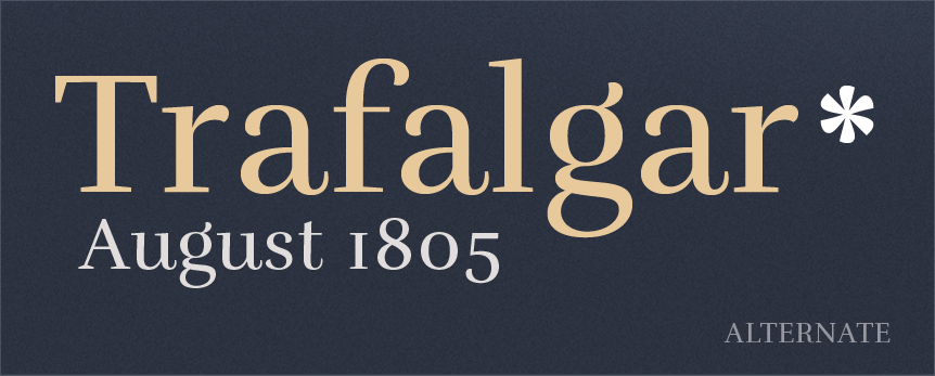 Rufina {ELEGANT FONT FROM TIPOTYPE}