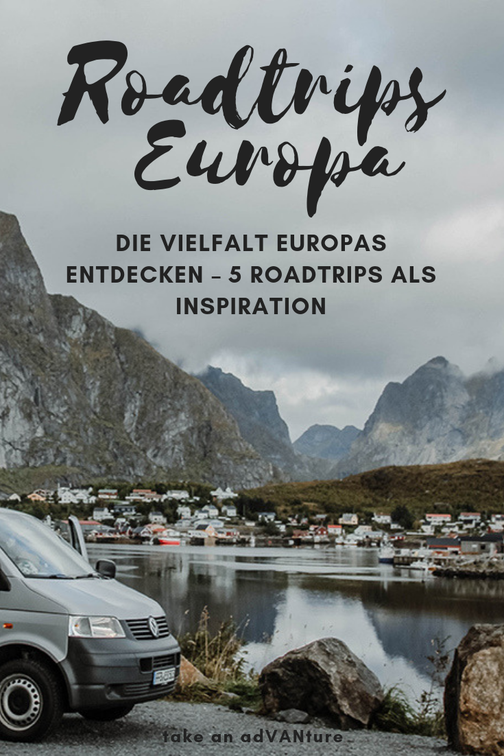 Photo of Die Vielfalt Europas entdecken – 5 Roadtrips als Inspiration // take an adVANture