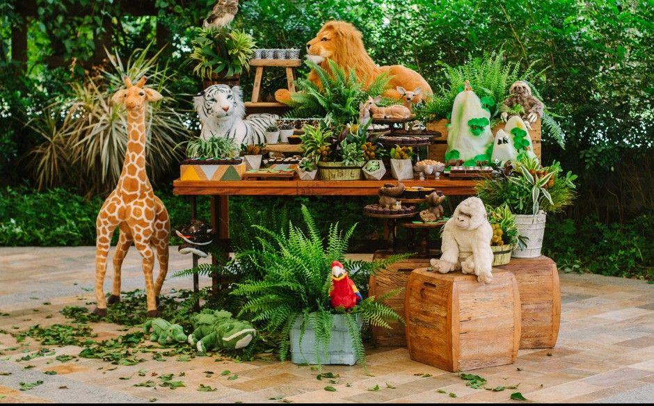 'Fazendo a Festa' veja fotos do episódio'Animais da Floresta' Casa de festas, Boleira e  -> Decoração Festa Infantil Zoologico