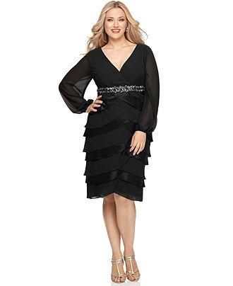 Macy's Plus Size Evening Dresses