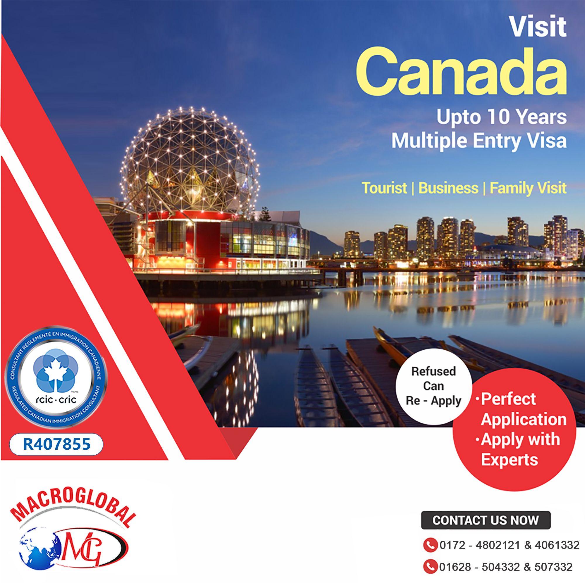 Canada ICCRC multiple visa with Macroglobal