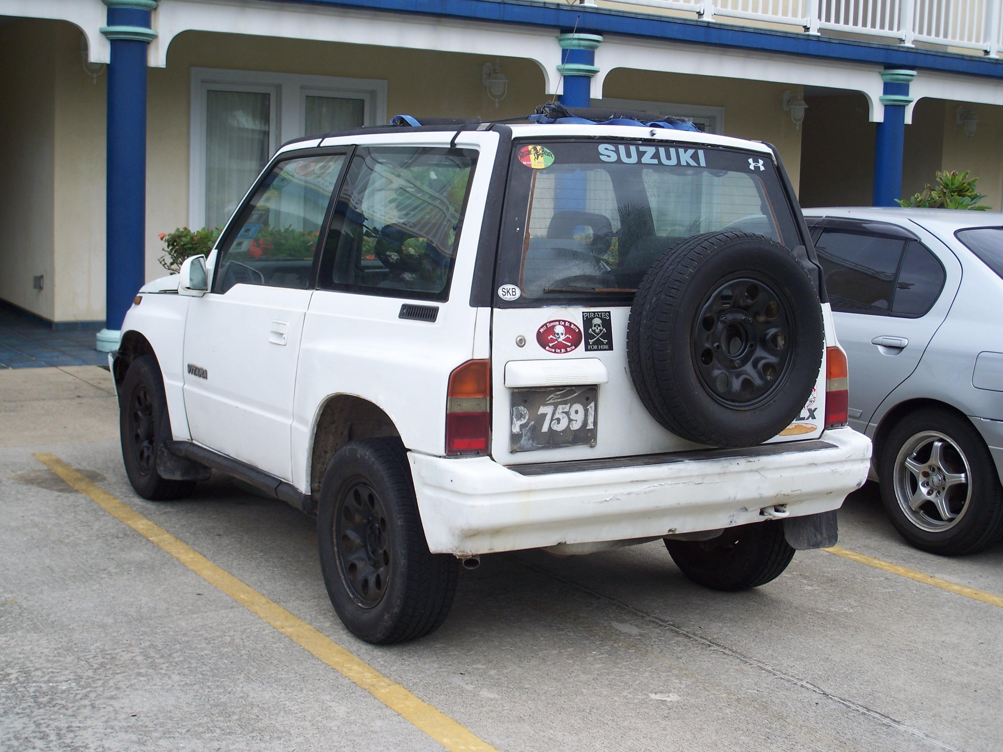 Suzuki vitara 1992 model most fun to drive