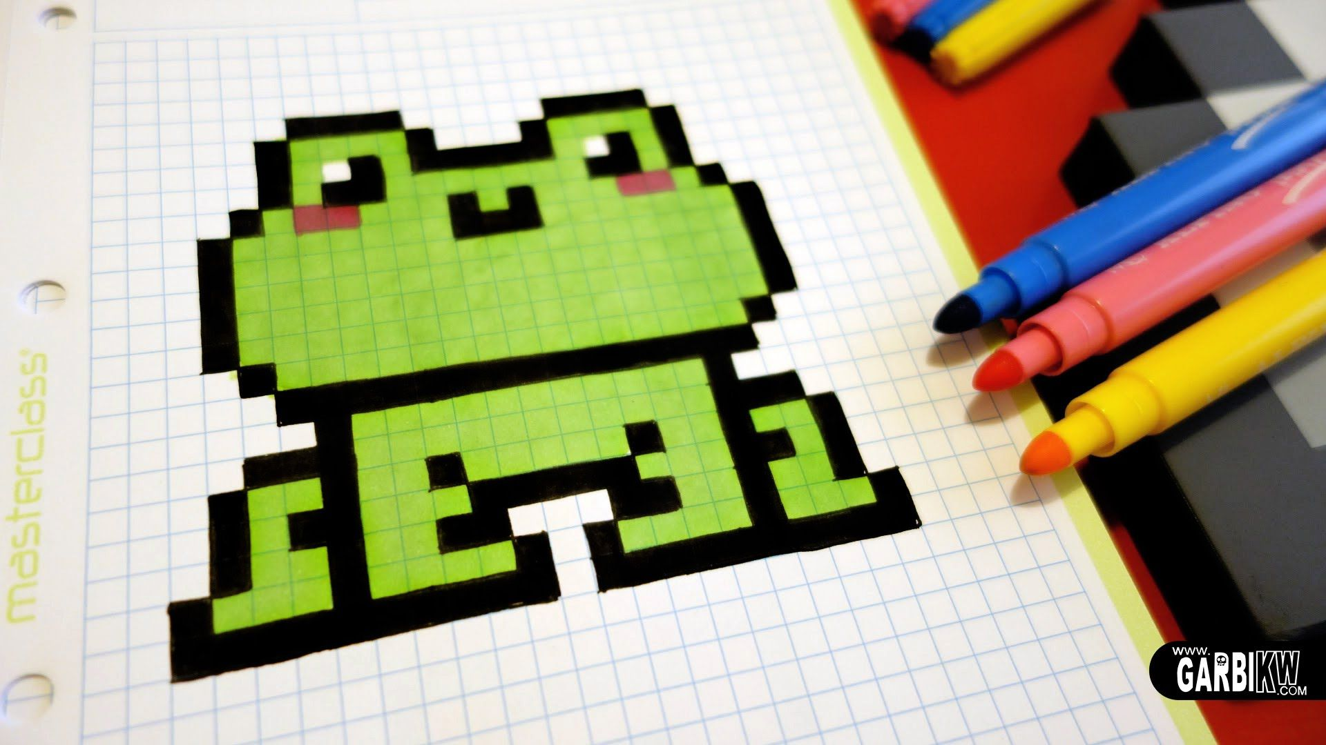 1000+ images about Hello Pixel Art by Garbi KW on Pinterest