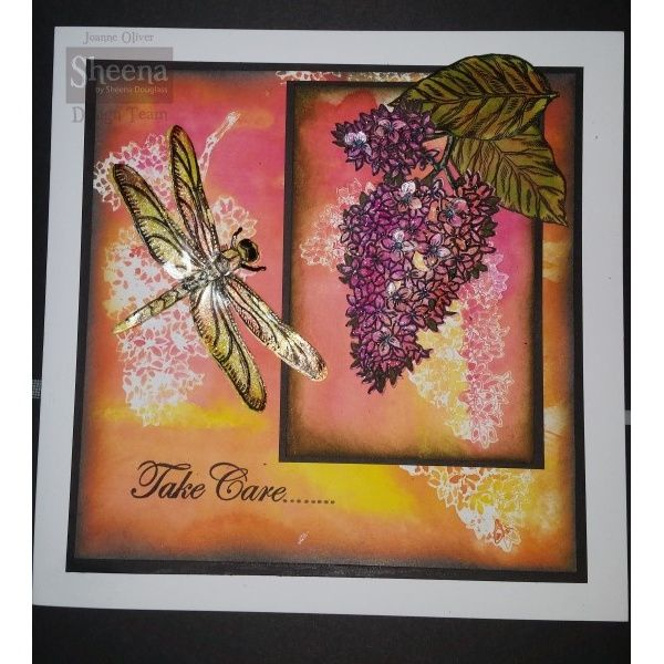 Sheena Douglass Perfect Partners Country Cottage Dragonfly Dance