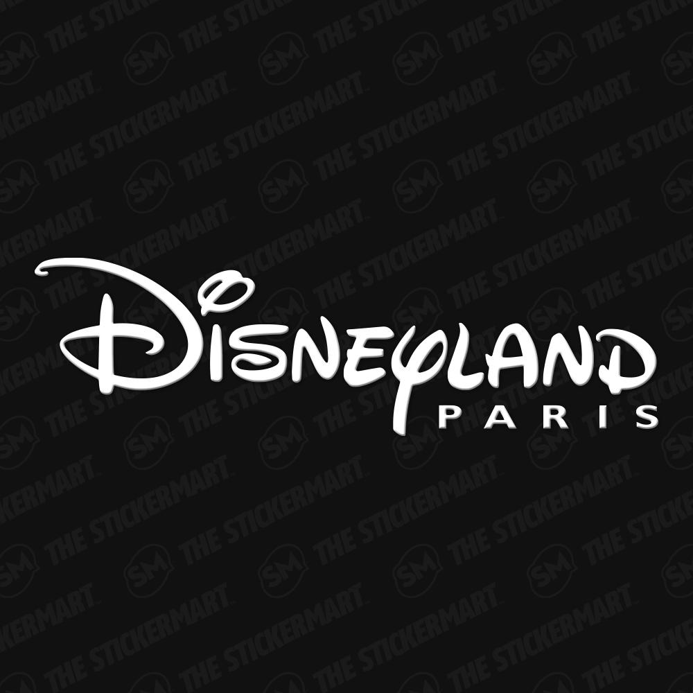 Disneyland Paris Logo Vinyl Decal In 2021 Paris Logo Disneyland Paris Disney Decals