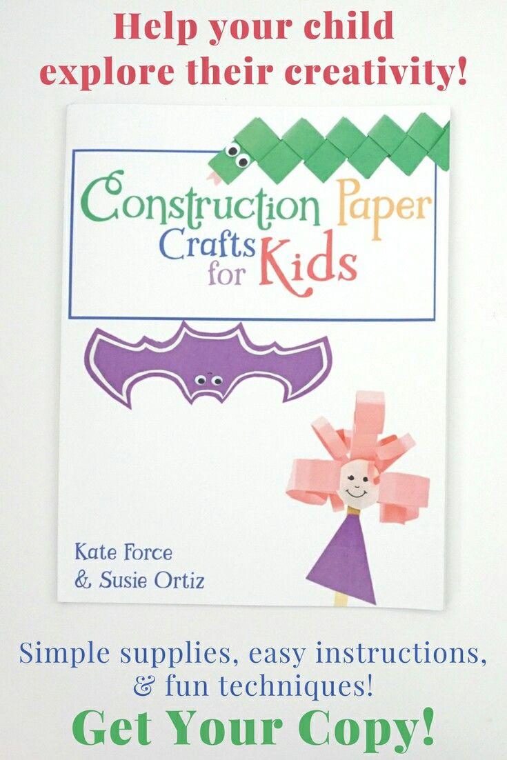 Construction Paper Crafts For Kids Affiliate Link
