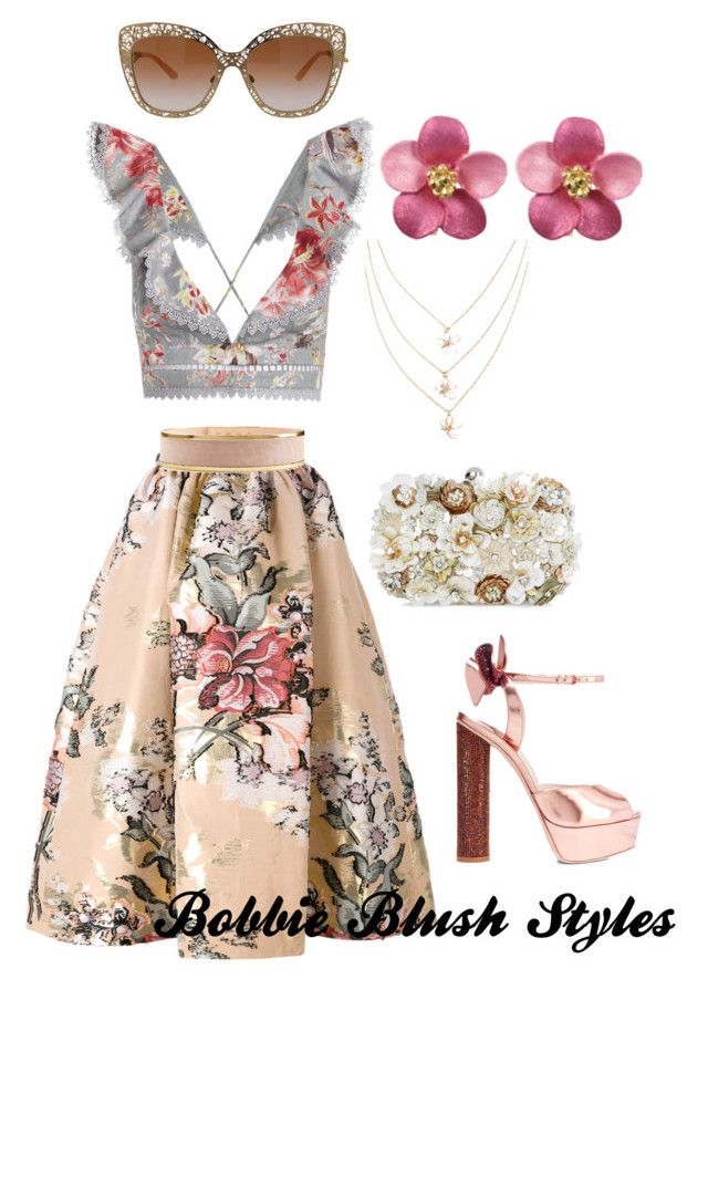 """""""Untitled #66"""" by bobbieblush on Polyvore featuring Zimmermann, Fendi, Balmain, Sophia Webster, Accessorize and Dolce&Gabbana"""