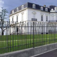 Clôture métallique imitation roseaux | Oorosoo en 2019 | Clotures ...