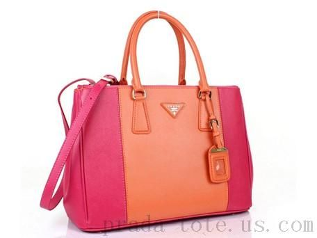 d9624fab1a2f07 ... switzerland discount prada bn2274 handbags in orangerose onnline sale  c7931 40d0b