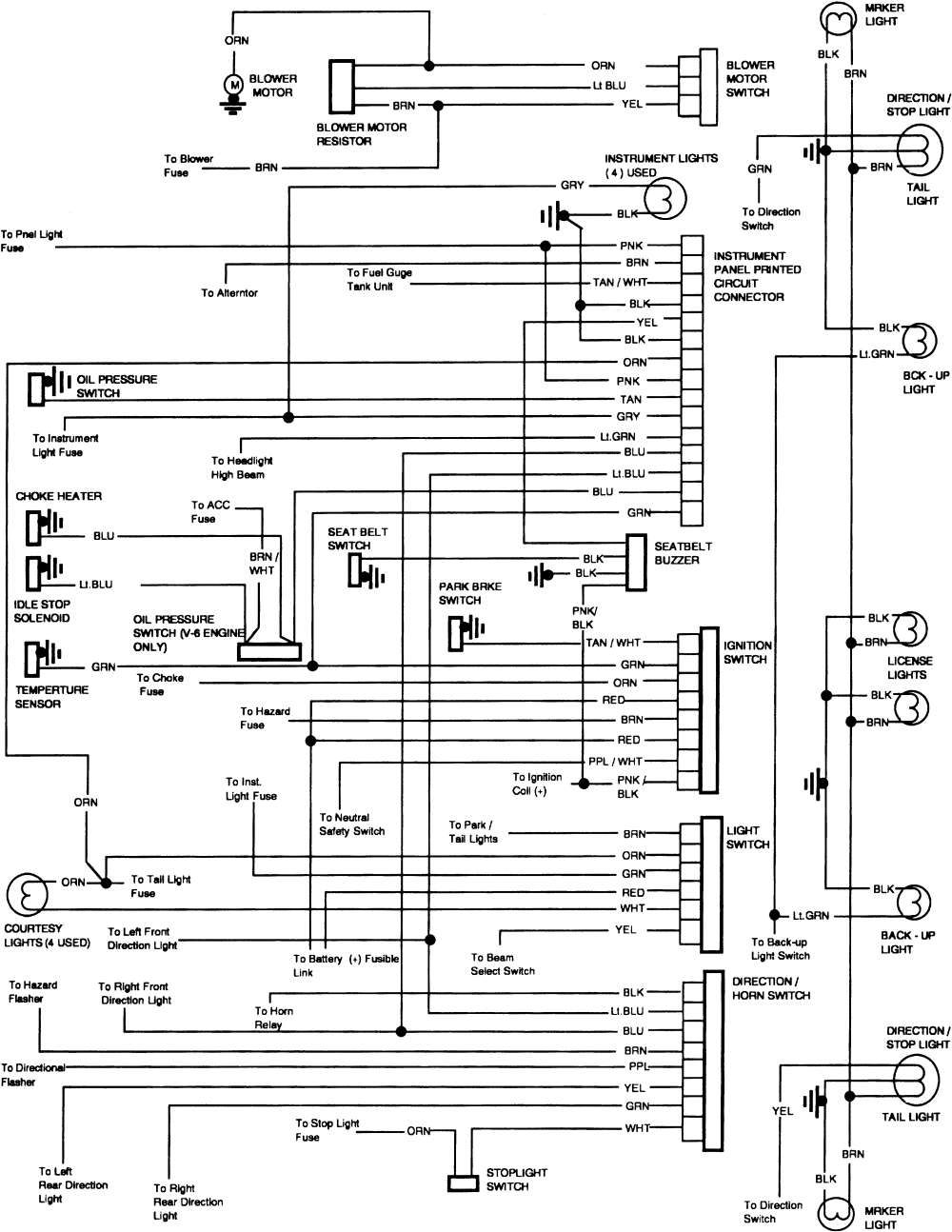 1985 Chevy Horn Wiring Diagram Wiring Diagram Popular Popular Graniantichiumbri It