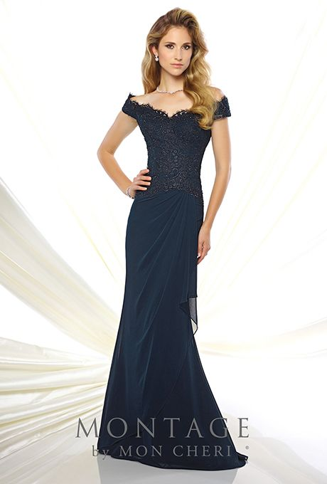 ead76ffda1f Montage by Mon Cheri 116937 Mother of the Bride Dress. Style 116937