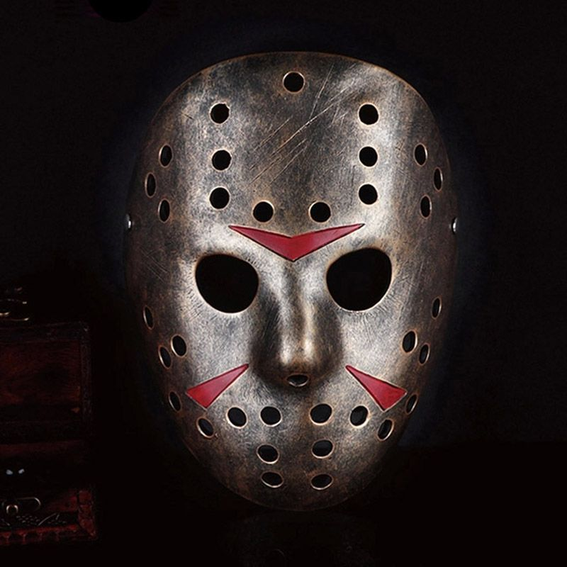 Free Shipping Buy Best Grade Resin Jason Mask Freddy Vs Jason Movie Theme Wedding Party Cosplay Horror Hallowee Jason Mask Jason Voorhees Halloween Masks