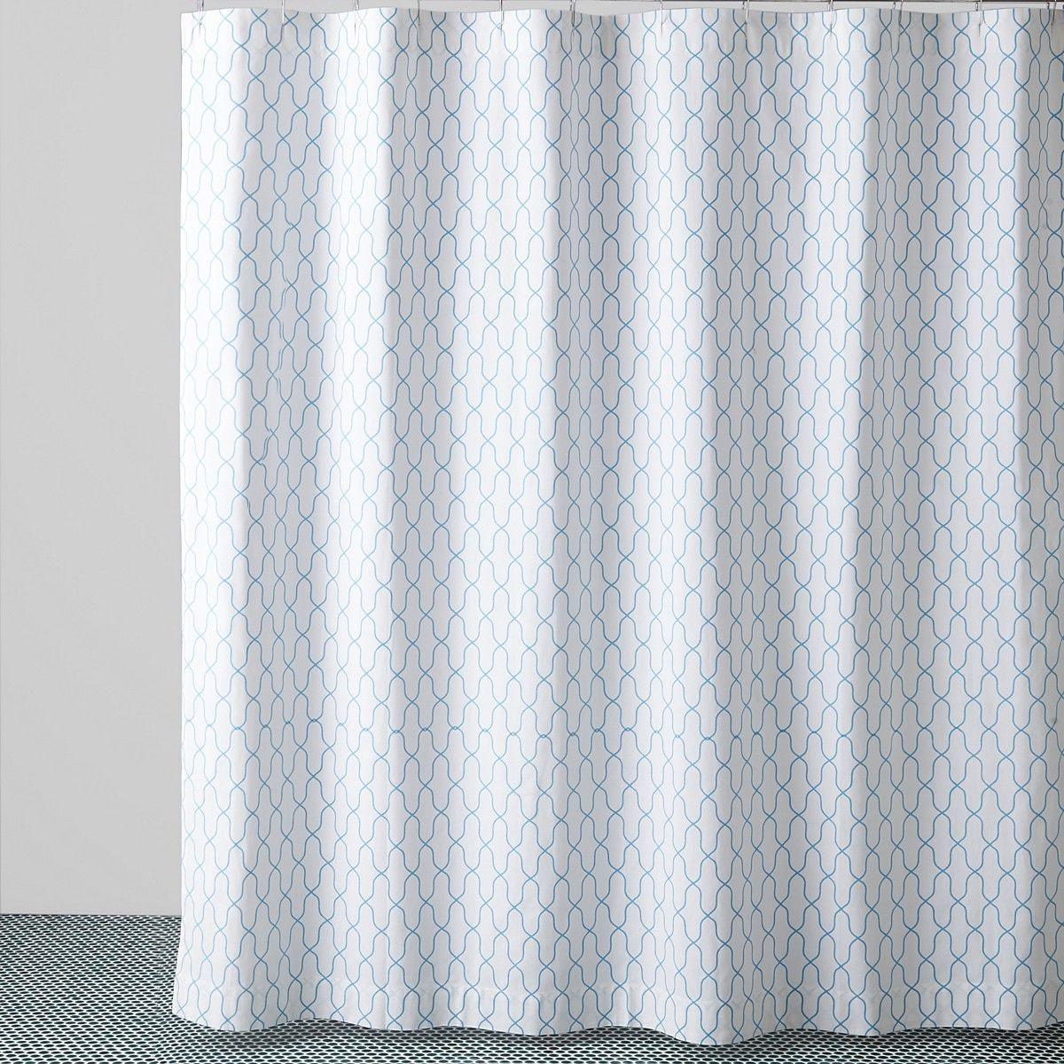 Jr By John Robshaw Fret Shower Curtain Bloomingdale S 86 99