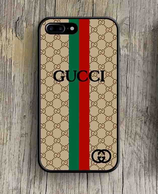 best sneakers 28c43 caef0 Gucci-AG17 Red Green Stripe Print On Hard Plastic Cover Case For ...
