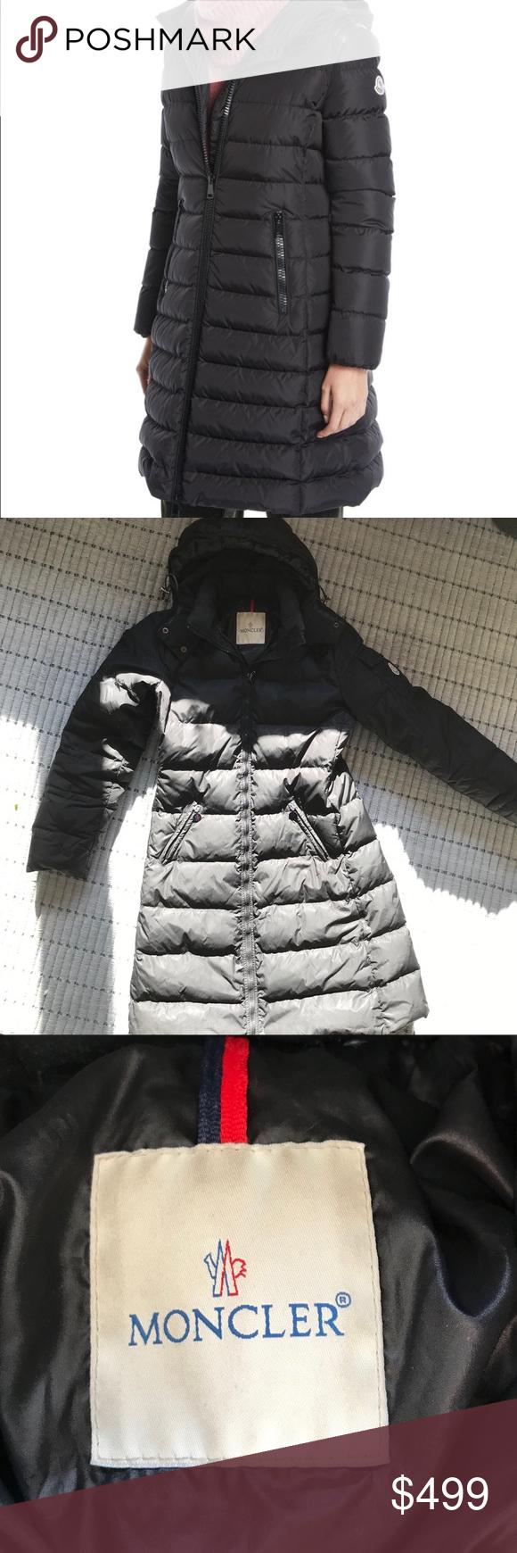 Moncler Puffer Long Down Coat/Jacket Size 1/ US24 Long