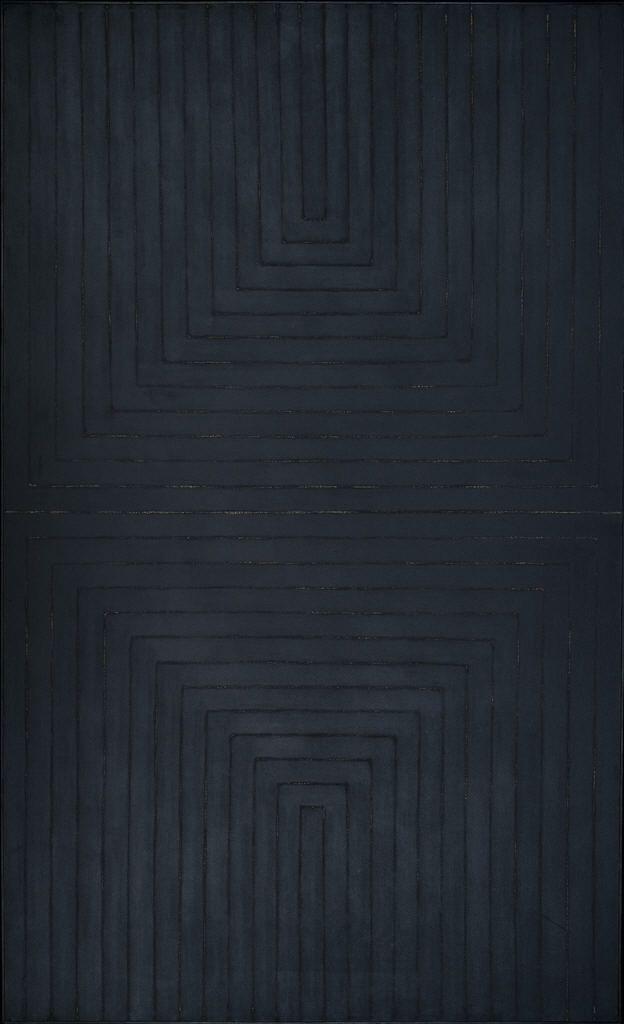 The Black Paintings (1959) - Frank Stella