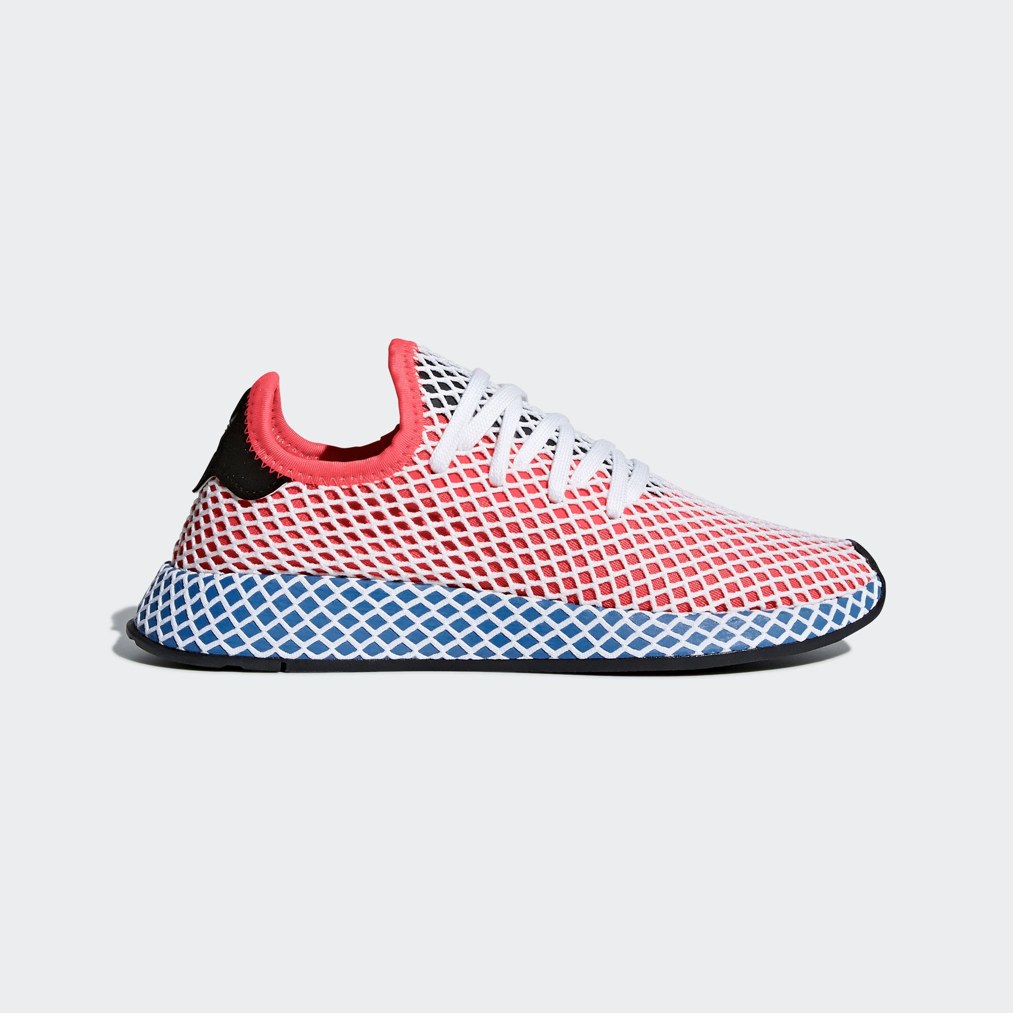 official photos 961b8 554e2 Shop the Deerupt Runner Shoes - Red at adidas.comus! See all the styles  and colors of Deerupt Runner Shoes - Red at the official adidas online shop.