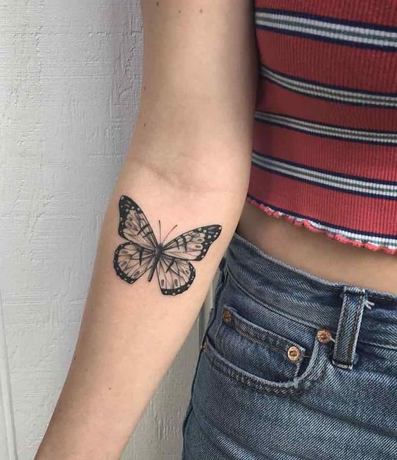 Tattoo Butterfly Tattoo Small Tattoo Back Tattoo Arm Tattoo Meaningful Tattoos Simple Tattoos Butterfly Tattoo Minimalist Tattoo Butterfly Tattoo Designs