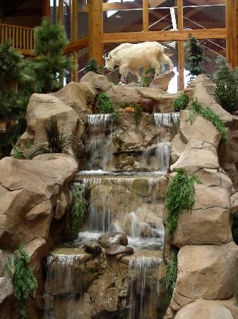 indoor waterfall | Water Fountains | Pinterest | Indoor waterfall ...