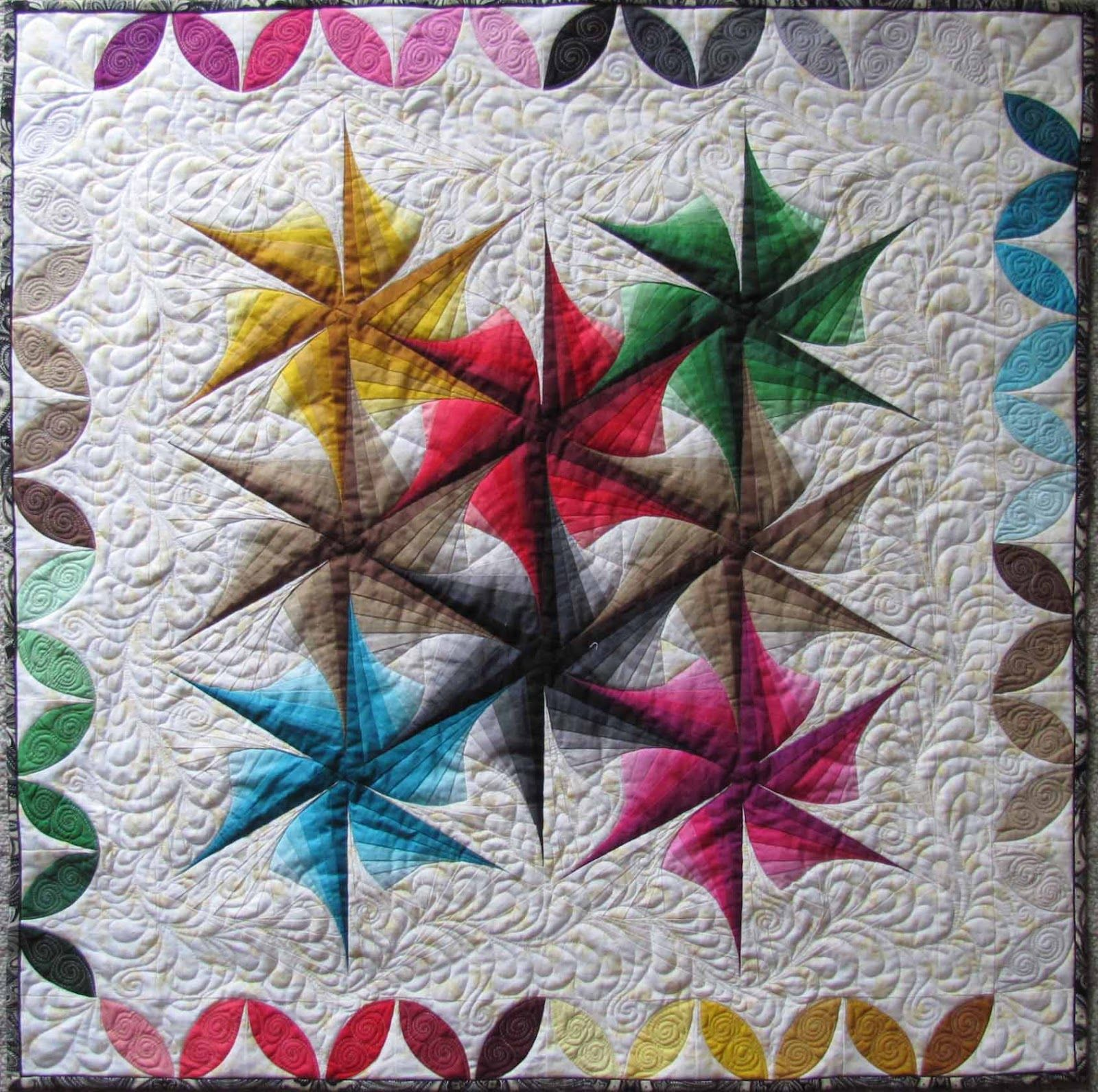Twisted Triangles Quilt Pattern QUILTS 2012