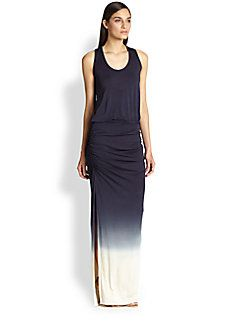 Young Fabulous & Broke - Mel Ombre Ruched Maxi Dress