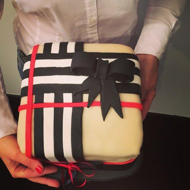 Die passende Torte für Modebegeisterte.