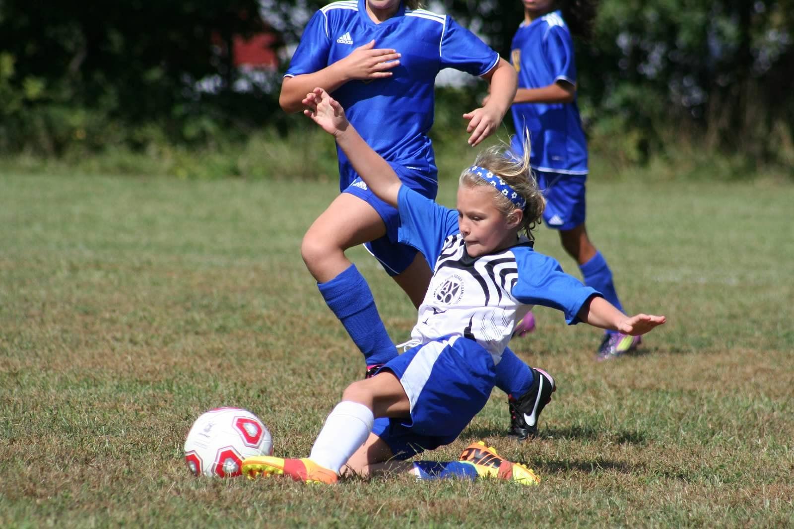 Cover Soccer Girl Nice Shot Soccer Socks Headbands Soccer