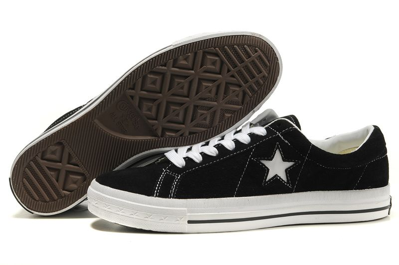mens and womens Converse one star black white