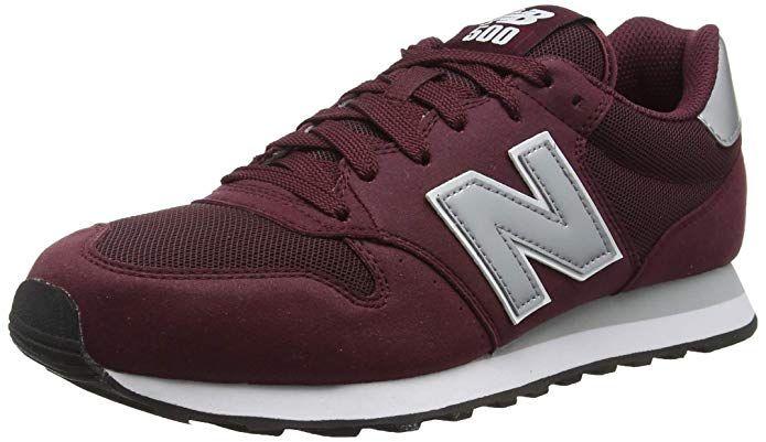 New Balance 500 Core Sneakers Herren Burgunder Rot | New ...